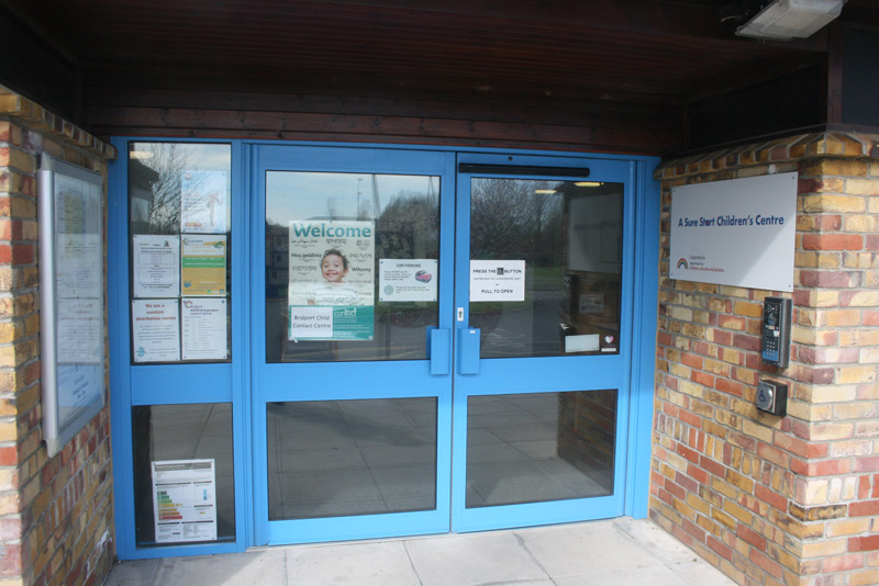 Main door to centre & Resident parents entrance